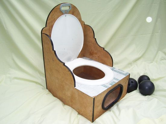 la toilette !