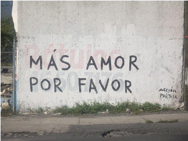 More love, please.  Acción Poética, México.