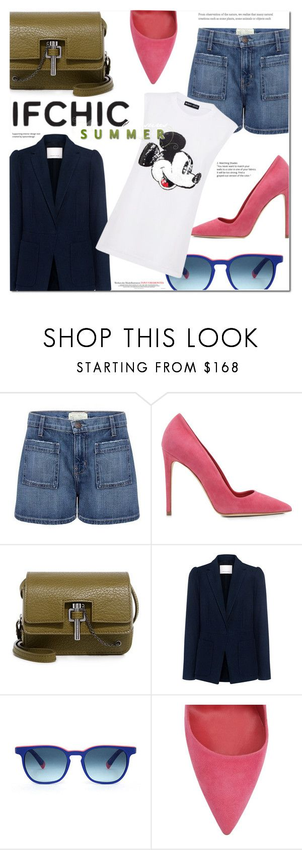 """""""IFCHIC.COM SUMMER SALE"""" by monica-dick ❤ liked on Polyvore featuring Current/Elliott, Dee Keller, Carven, Rebecca Taylor, Etnia Barcelona, Markus Lupfer, vintage, summersale and ifchic"""
