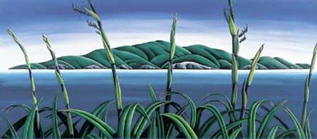 Kapiti Island by Diana Adams for Sale - New Zealand Art Prints