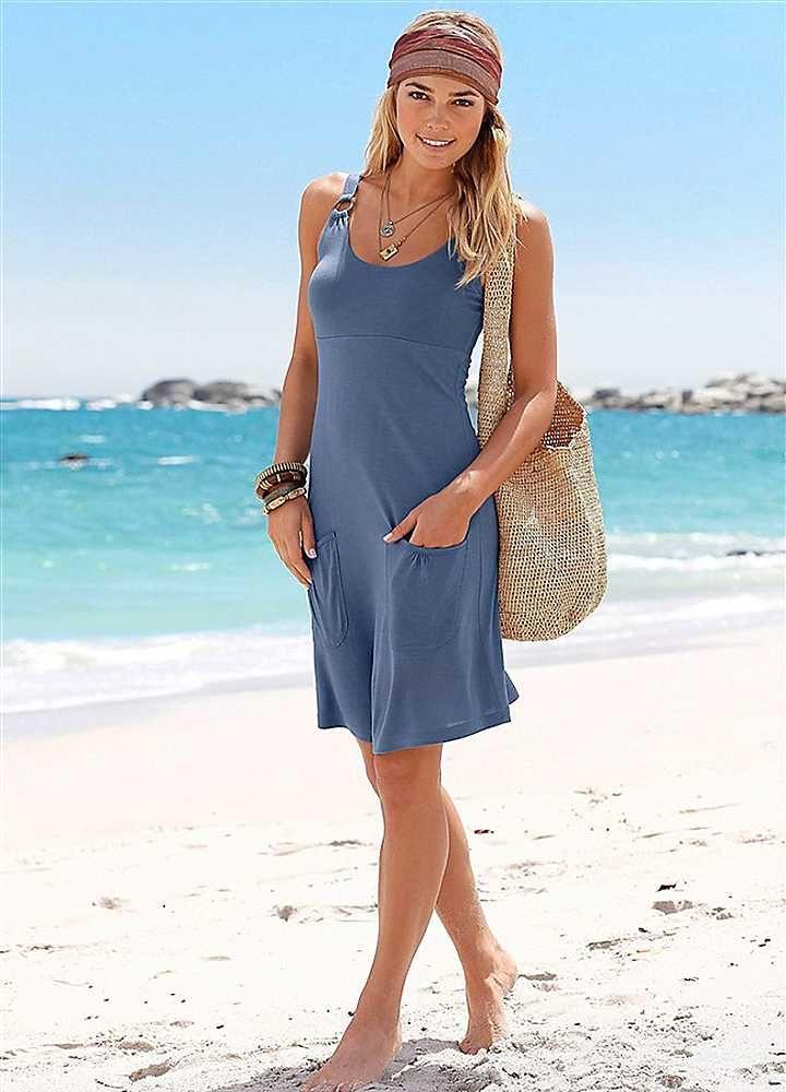 17  ideas about Blue Beach Dresses on Pinterest - Crochet dresses ...