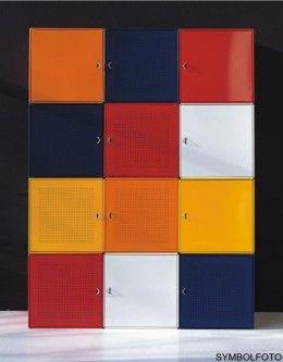 Graepel High Tech QBO base Würfel aus lackiertem Stahl in verschiedenen Farben