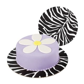 WILTON ZEBRA 12IN CAKE BOARDS 3 PACK