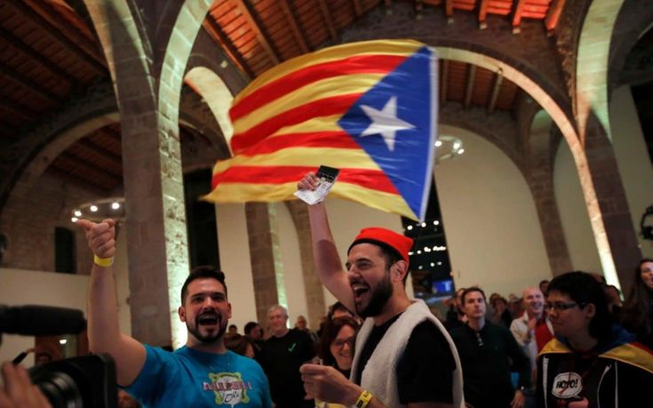 Catalonia's pro-independence parties headed for victory in critical regional election