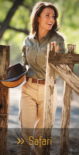 SHE Outdoor Apparel - Her Adventure Starts Here:  Safari Wear