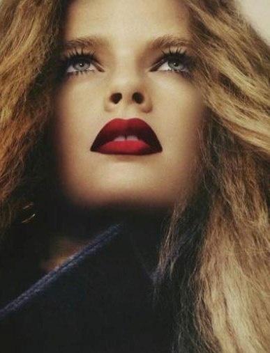 My favorite red ombré lip