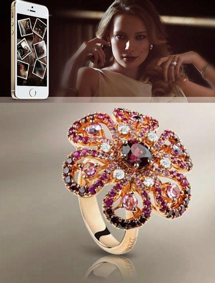 #Damiani #gioielli #jewelry #madeinitaly #fashionbrand #design #app #hitech #itunes #style #fashion #sanvalentino #sanvalentien #love #cool #fashionblogger #iphone #fashionblog #collage #stones #diamonds #diamanti #fidanzamento #flowers #butterfliesTHE FASHIONAMY by Amanda Fashion blog outfit, made in italy, felpe tshirt street wear : #sanvalentino #DamianiApp - il made in Italy dei gio...