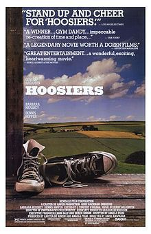 Hoosiers (1986). D: David Anspaugh. Selected in 2001.: Small Town, Coach Carter, Basketball Movie, Hoosier Movie, Movies T V, Music Movies Actor, Movies Music Books, Favorite Movie, Movie Magic
