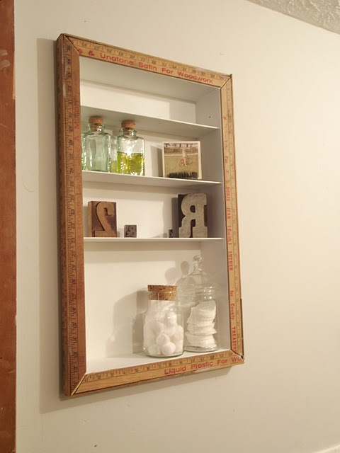 Mirror Shelves Bathroom