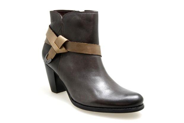 Boots FUGITIVE PRIMUS Café - Chaussures femme