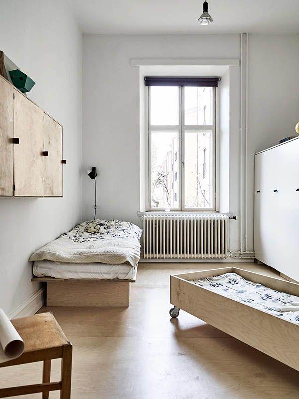 Habitaciones infantiles decoradas solo con madera - Habitaciones infantiles decoradas ...