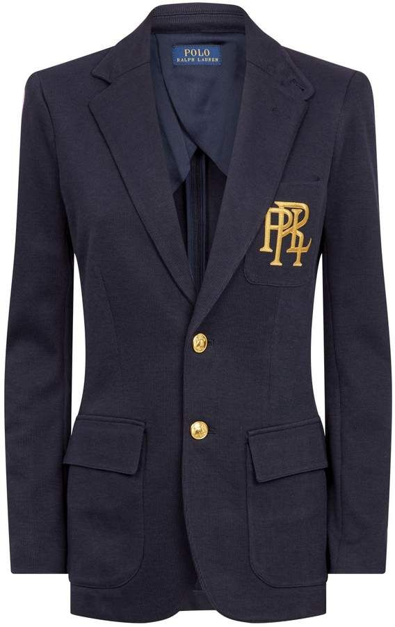Harrods Uk The World S Leading Luxury Department Store Ralph Lauren Preppy Blazer Cotton Blazer