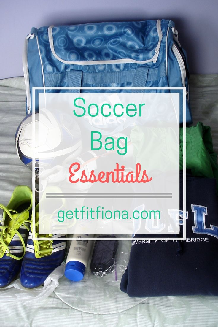I thought I'd share my soccer bag essentials since I had no idea what I should bring with me to my first game.I think most of it is pretty basic, but there's a few things that I never would have