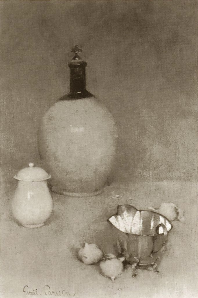 Emil Carlsen Still Life (jug, pot, bottom of kettle) c.1903