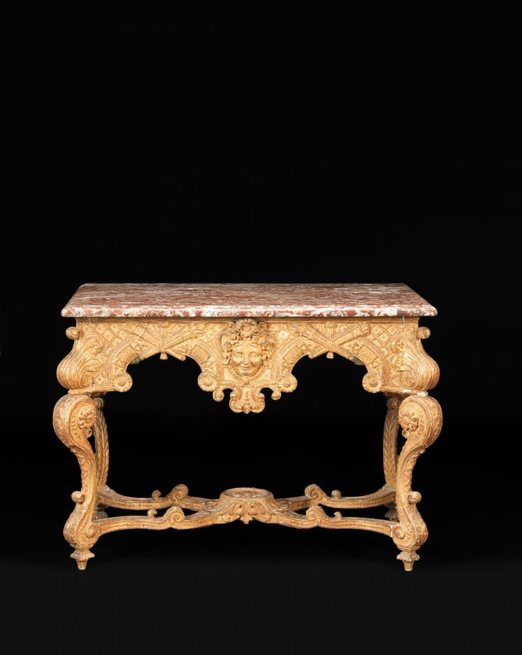 Table de milieu au masque france poque louis xiv for Mobilia 2000 monaco
