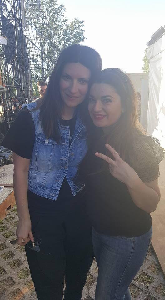 Che onore occuparsi del trucco per il corpo di ballo di Laura Pausini nel suo concerto ad Imola!