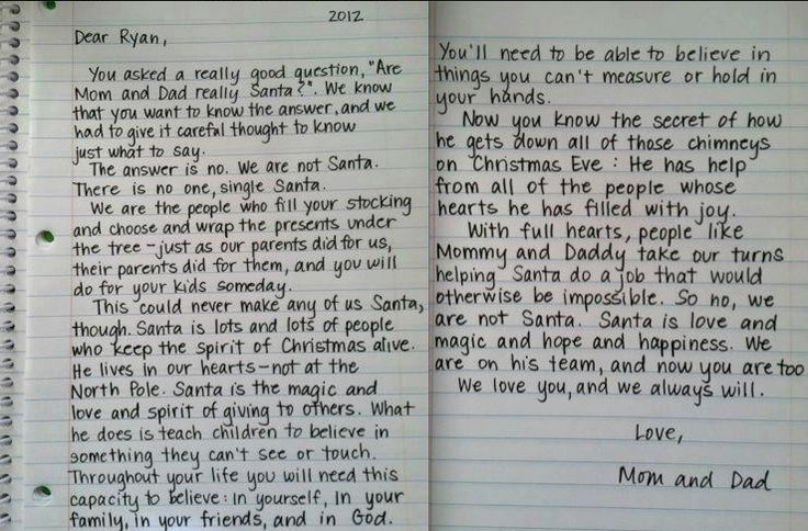 the best way to tell your child about santa claus