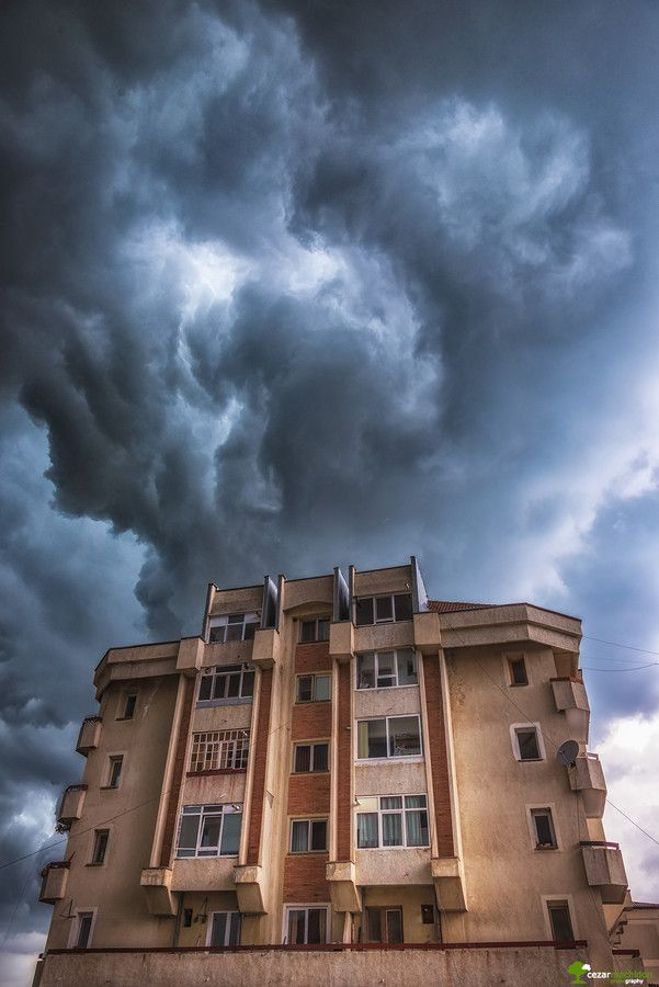 Angry clouds by Cezar Machidon on 500px