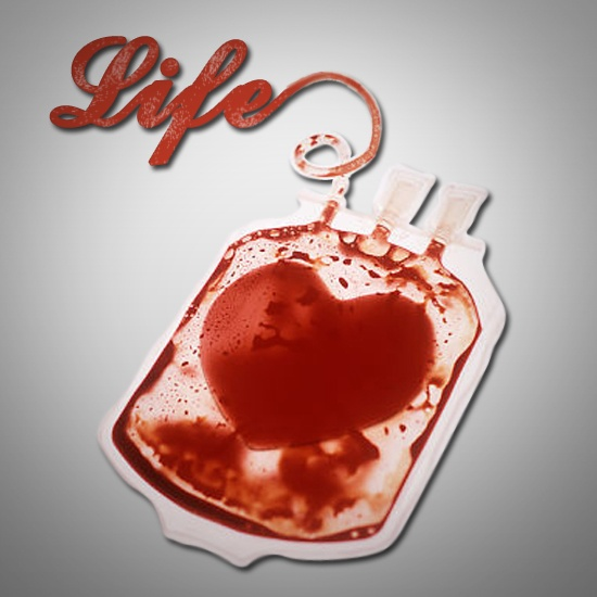 There is no substitute for human blood. Donate blood Now. bloodbanker.com