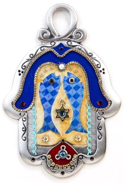 Fish Hamsa Amulet for Prosperity