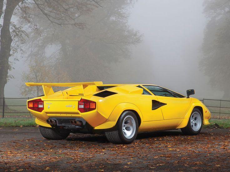 1981 Lamborghini Countach LP400S | V12, 3,929 cm³ | 353 PS | Original design: Marcello Gandini, Bertone