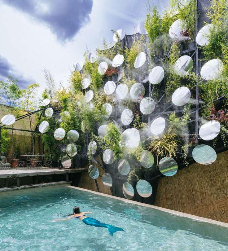 Les 25 meilleures id es concernant canisse bambou sur pinterest canisse bal - Cloison exterieur terrasse ...