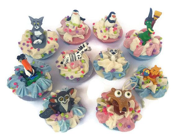 Beautiful soaps for children. great for colectors, decor,or center pieces. Great variety of characters from Tweety, Bambi, Konfu Panda, Lion king, Penguins of Madagascar, Tom & Jerry, Minions, My Little Pony, and so much more...Enjoy!!! I do take custom orders if there are some you want more of or others that are not in the photos.