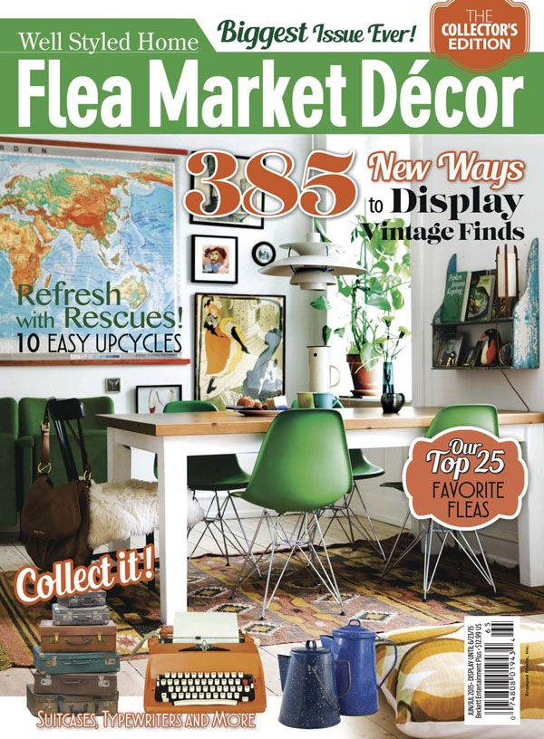 27 best Flea Market Magazines Covers images on Pinterest Flea