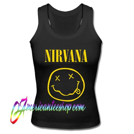 Nirvana Smiley Face Logo Tank Top