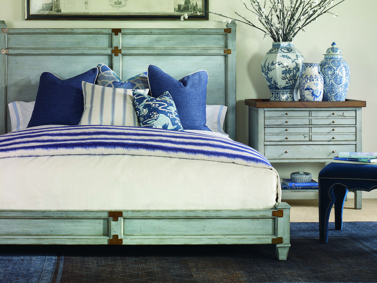 French Blue On A Timberlake Home Collection Bed Is Simply Incredible!