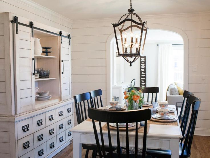 Fixer Upper Fresh And Fun Ranch Update In The Heart Of Waco Country Dining RoomsWhite