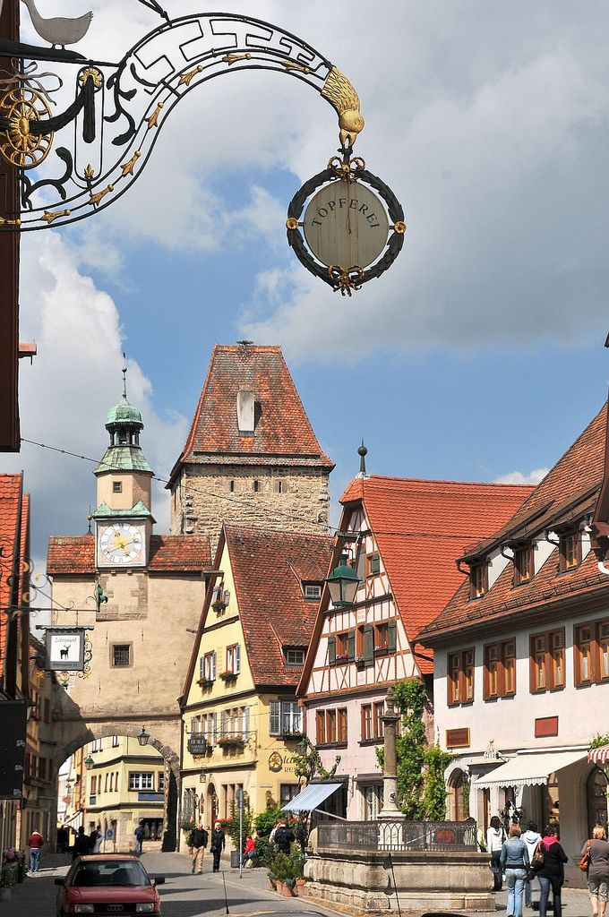 .Rothenburg ob der Tauber, Germany