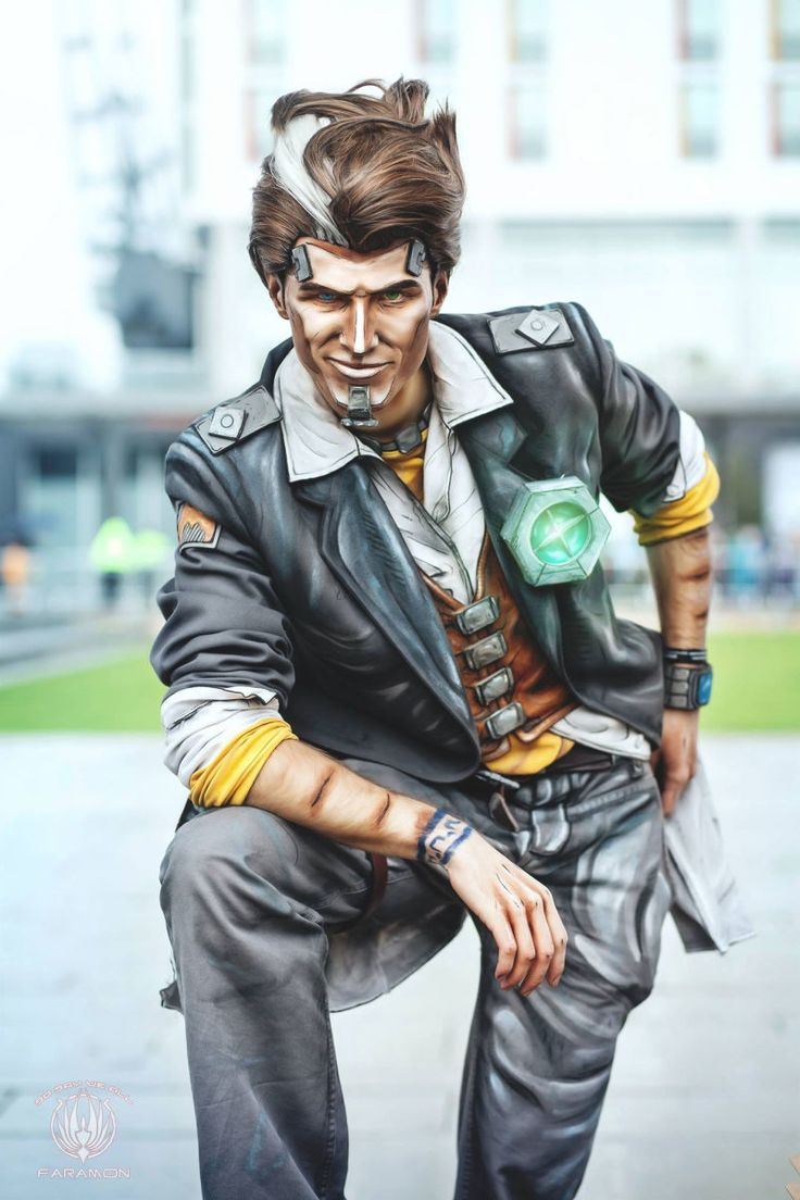 Handsome Jack (Borderlands 2) by Mary & Feinobi cosplay, photo by So Say We All