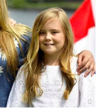 Princesse Ariane, 7 juillet 2017, Photoshoot d'été annuel, Kagerplassen, Warmond (Pays-Bas)