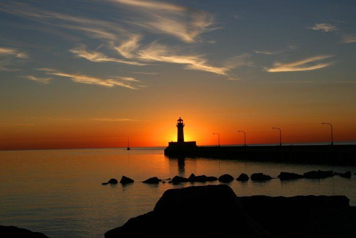 Sunrise+at+Duluth+Harbor+by+Louis+Lindmeyer+on+Capture+Minnesota+//+Sunrise+at+Duluth+Harbor