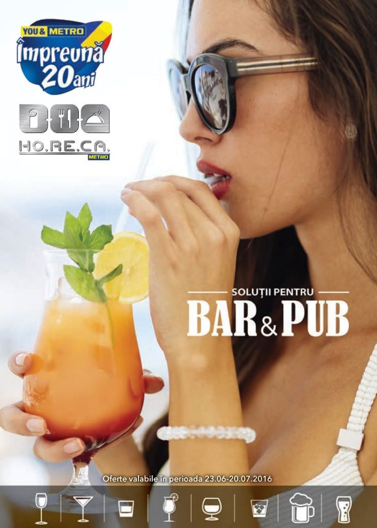 Catalog Metro Oferte Bar&Pub 23 Iunie - 6 Iulie 2016! Oferte si recomandari: blender profesional, 3 viteze, cutit pentru aplicatii umede, uscate si gheata