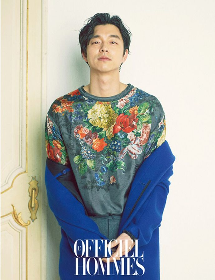 Gong Yoo Covers L'Officiel Hommes' January 2014 Issue