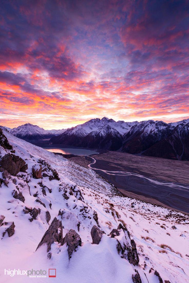 Tasman Valley by Mark Watson on 500px