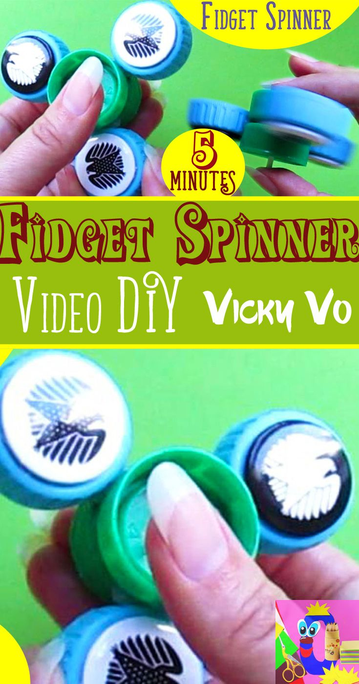 Diy Fidget Spinner Spinner Spinners Spinnertoy Spinnertoys Spinnermania Spinnerphoto Spinnervideo Unique Homemade Gifts Hand Crafted Gifts Diy Handmade