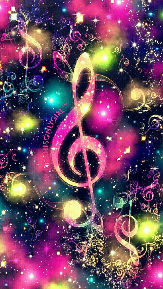 Musical mist 2 galaxy iPhone/Android wallpaper I created for the app CocoPPa!