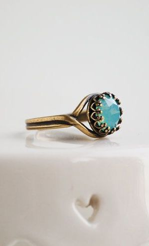 Pacific OPAL RING Adjustable Rhinestone Light
