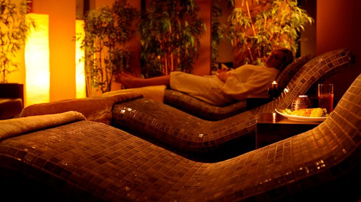 The relaxation room of the 4* Millrace Hotel, Leisure Club and Spa, Co. Wexford
