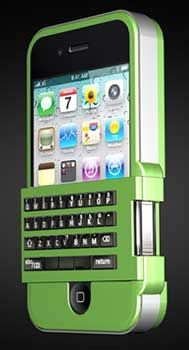 Spike Keyboard will Turn your iPhone Into a Palm Treo