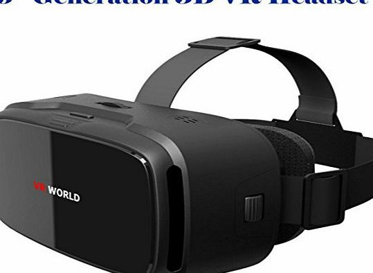 ANSIO® 3D VR Glasses, 3D VR Headset Virtual Reality Box | Glossy Finish  Front