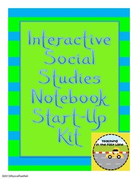 Interactive Social Studies Notebook Start-Up Kit $