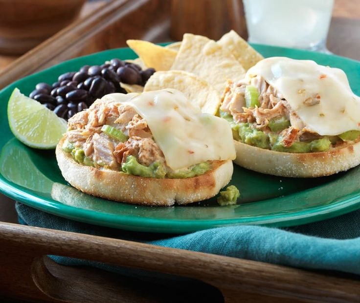 Bays English Muffins South of the Border Tuna Melt Recipe (Sweepstakes) via @Just 2 Sisters