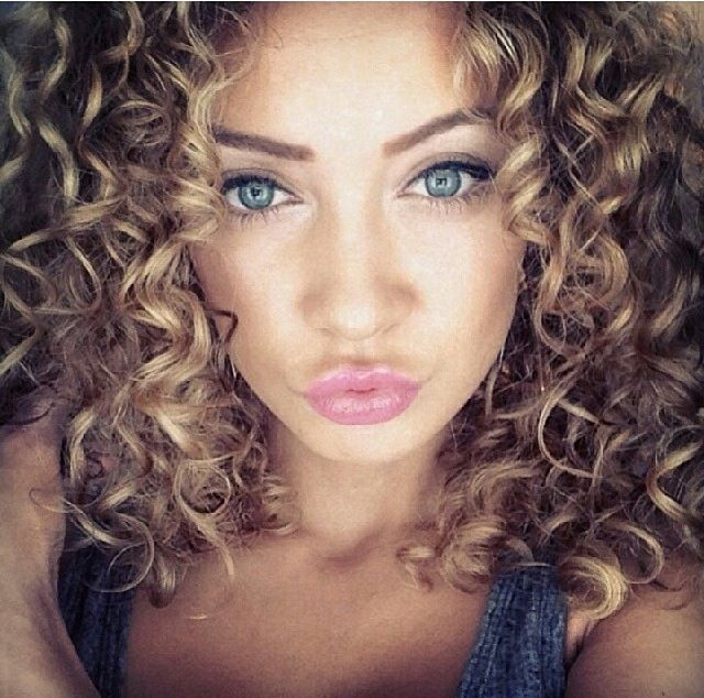 Groovy 1000 Ideas About Naturally Curly Haircuts On Pinterest Medium Short Hairstyles Gunalazisus