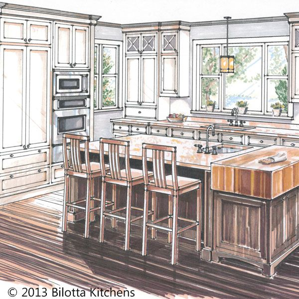 27 best renderings images on pinterest for 3d drawing kitchen