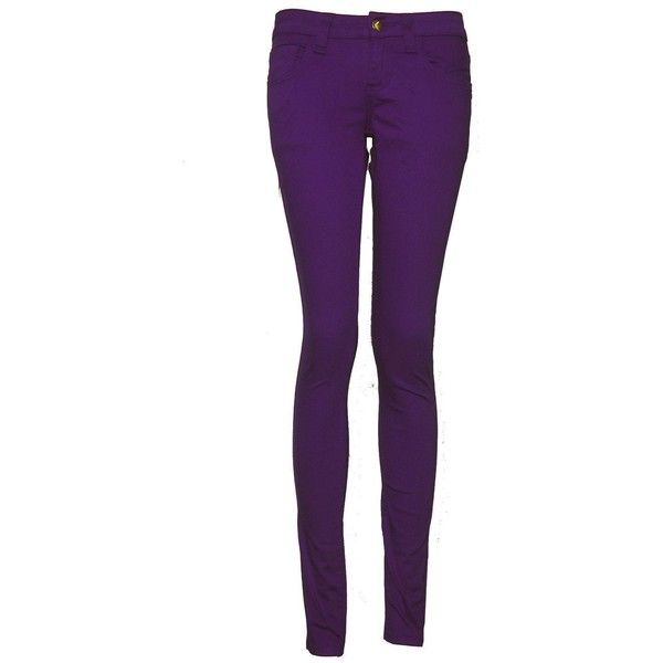 Monkee Genes Organic Cotton Sateen Supa Skinny Jeans ❤ liked on Polyvore