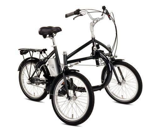 Helkama E Trike 3 S Pedelec Triciclo Elettrico Per Adulti 36v Bici